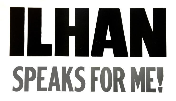 Ilhan speaks